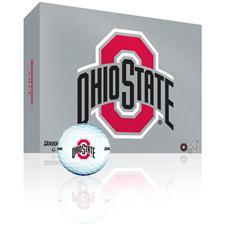Bridgestone e6 Collegiate Personalized Golf Balls - Ohio State Buckeyes