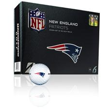 Bridgestone New England Patriots e6 NFL Golf Balls