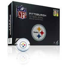 Bridgestone Pittsburgh Steelers e6 NFL Golf Balls