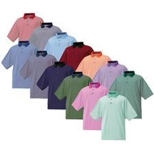 FootJoy Custom Logo ProDry Performance Lisle Feeder Stripe Shirt