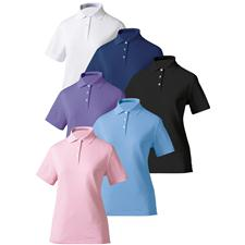 FootJoy Custom Logo Custom Logo Stretch Pique Shirt for Women