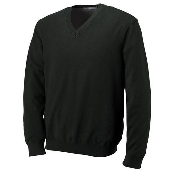 Greg Norman Men's Lined Pima V-Neck Sweater