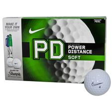 Nike Power Distance Soft Golf Balls w/ 2 Free Sharpies