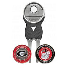Team Golf Georgia Bulldogs Collegiate Divot Tool Pack