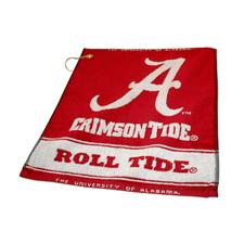 Team Golf Alabama Crimson Tide Collegiate Woven Towel