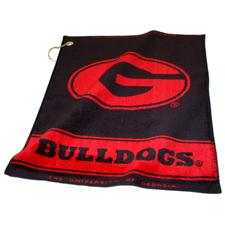 Team Golf Georgia Bulldogs Collegiate Woven Towel