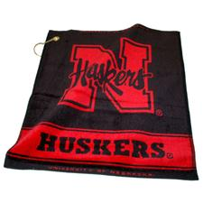 Team Golf Nebraska Cornhuskers Collegiate Woven Towel