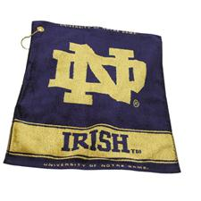 Team Golf Notre Dame Fighting Irish Collegiate Woven Towel