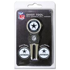 Team Golf Dallas Cowboys NFL Divot Tool Pack