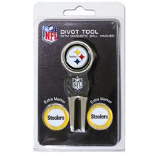 Team Golf Pittsburgh Steelers NFL Divot Tool Pack