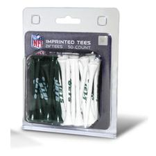 Team Golf New York Jets NFL Tee Pack - 50 Count