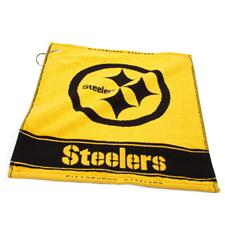 Team Golf Pittsburgh Steelers NFL Woven Towel