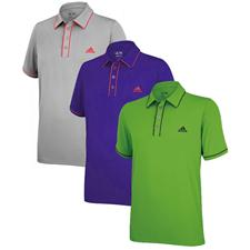 Adidas Men's ClimaLite Piped Solid Polo