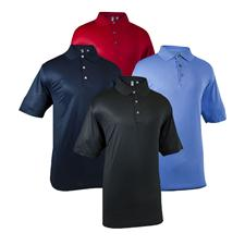 Ashworth Men's Performance Solid Polo