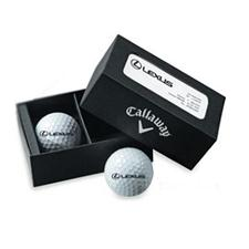 Callaway Golf Custom Logo 2-Ball Business Card Box