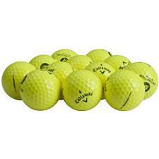 Callaway Golf Logo Overrun HEX Warbird Yellow Golf Balls