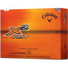 Callaway Golf X2 Hot Logo Golf Balls