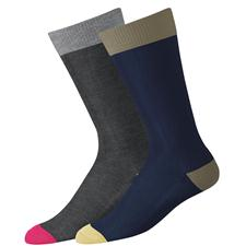 FootJoy Men's Limited Edition Fashion Color Block Crew Socks