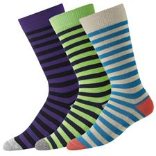 FootJoy Men's ProDry Stripe Limited Edition Crew Sock