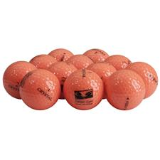 V Golf Crystal Orange Logo Overrun Golf Balls
