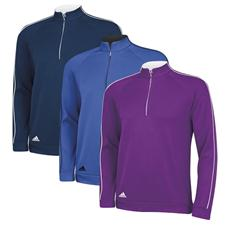 Adidas Men's 3-Stripes Piped 1/4 Zip Fashion Pullover