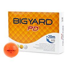 BigYard Orange PD 2 Piece Orange Golf Balls
