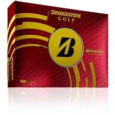 Bridgestone B330-RX Yellow Personalized Golf Balls