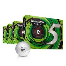 Bridgestone e5 Personalized Golf Balls - Buy 3DZ Get 1DZ Free