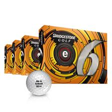 Bridgestone e6 Personalized Golf Balls - Buy 3DZ Get 1DZ Free