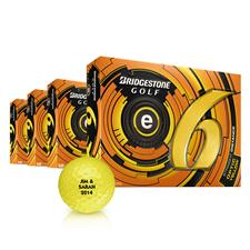 Bridgestone e6 Yellow Golf Balls -  Buy 3DZ Get 1DZ Free
