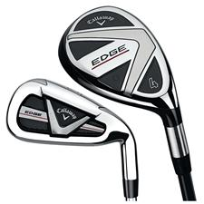 Callaway Golf Edge Hybrid Iron Graphite/Steel Set
