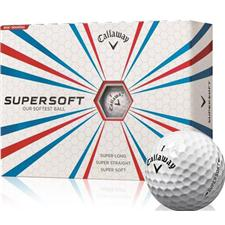 Callaway Golf Supersoft Logo Golf Balls