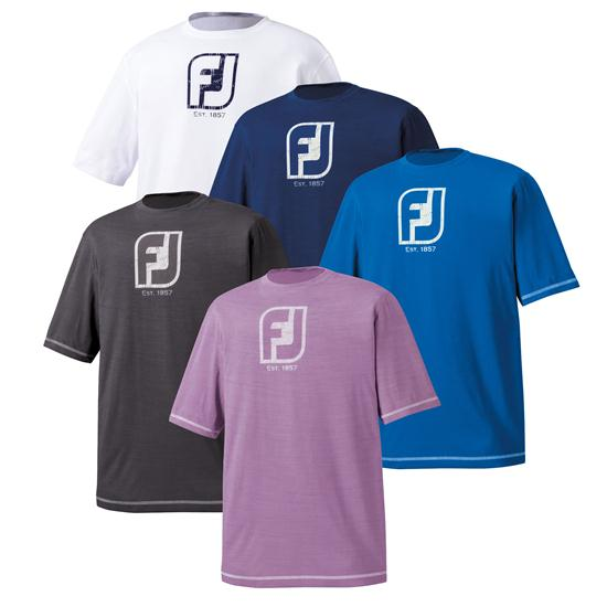 Footjoy men 39 s performance t shirt for Footjoy shirts with titleist logo