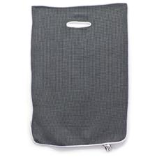 Microfiber Performance Personalized Golf Towel - Standard - Grey/White