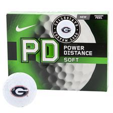 Nike Georgia Bulldogs Power Distance Soft Collegiate Golf Balls