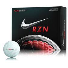 Nike RZN Black Personalized Golf Balls