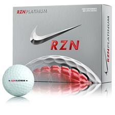 Nike RZN Platinum Personalized Golf Balls