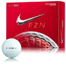 Nike Custom Logo RZN Red Golf Balls - 2014