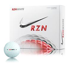 Nike RZN White Personalized Golf Balls