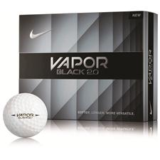 Nike Vapor Black 2.0 Personalized Golf Balls