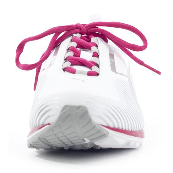 Puma Faas Lite Golf Shoes for Women - White/Silver/Virtual Pink - 9 1