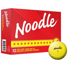 Taylor Made Custom Logo Noodle Long Yellow Golf Balls