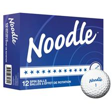 Taylor Made Noodle Spin Custom Golf Balls
