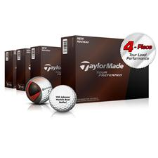 Taylor Made Tour Preferred Golf Balls - Buy 3DZ Get 1 DZ Free