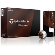 Taylor Made Tour Preferred Personalized Golf Balls