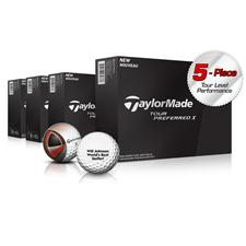 Taylor Made Tour Preferred X Golf Balls - Buy 3DZ Get 1DZ Free