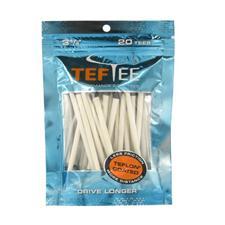 Tef Tee Teflon Coated Tees - 3 1/4 Inch