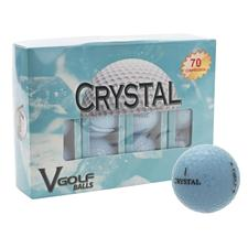V Golf Crystal Blue Golf Balls