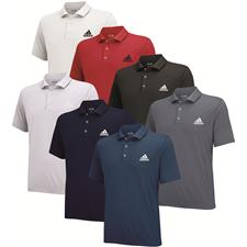 Adidas Custom Logo Puremotion Solid Jersey Polo
