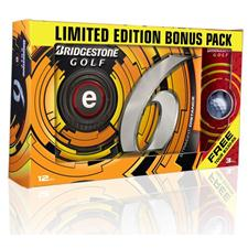 Bridgestone e6 Golf Balls with Free B330-RX Sleeve